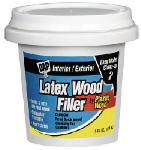 Dap 08111 Plastic Wood Cellulose Fibre Wood Filler, Natural, 1/4-Pt.