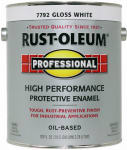 Rust-Oleum K7792-402 GAL WHT Gloss or Glass Enamel