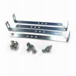 Solar Group MB100000 Mailbox Mounting Brackets For Wooden Posts, 5.75 x 1-In., Incl. 4 Brackets