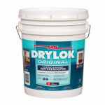 United Gilsonite Lab 27515 Masonry Waterproofing Paint, Latex, White, 5-Gal.