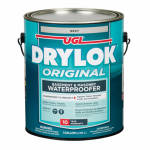 United Gilsonite Lab 27613 Masonry Waterproofing Paint, Latex Gray, 1-Gal.