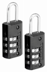 Master Lock 646T 2-Pack 13/16-Inch Wide Combination Set-Your-Own Luggage Lock