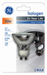 G E Lighting 84905 50-Watt Quartz Halogen Floodlight Bulb