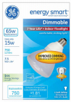 GE Lighting 21710 15W R30 White Floodlight Bulb