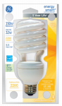 G E Lighting 24684 32-Watt Soft White Compact Fluorescent Spiral Lamp