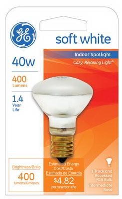 25777 Indoor Reflector Spot Light Bulb 40 Watts