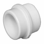 Charlotte Pipe & Foundry 72420 2x2 PVC Fitting Adapter