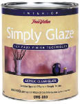 True Value Mfg SACG1-QT Acrylic Clear Glaze, Qt.