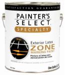 True Value Mfg 1013-GL 1-Gallon Flat White Latex Zone Marking Paint