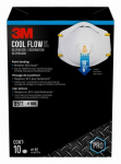 3M 8511PB1-A-PS 10-Pack Respirator Cool Valves