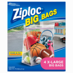 S C Johnson Wax 65644 4-Pack Extra-Large Big Bags