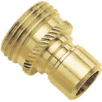 Fiskars Brands 09QCMGT Brass Male Connector