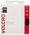 Velcro Usa Consumer Pdts 90081 Sticky Back Fastener Tape, Black, 15-Ft. x 3/4-In.