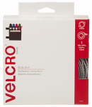 Velcro Usa Consumer Pdts 90082 Sticky Back Fastener Tape, White, 15-Ft. x 3/4-In.