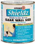 Zinsser & 02104 Shieldz 1-Qt. Clear Acrylic Wall Size