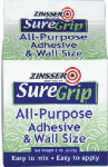 Zinsser & 62008 Sure Grip 8-oz. All-Purpose Adhesive & Wall Size