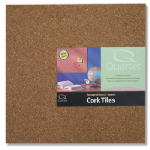 Acco Brands 102 Cork Tiles, 12 x 12-In., 4-Pk.