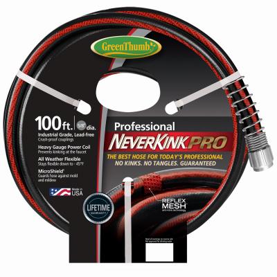 NeverKink GT8844-100 NeverKink Pro Garden Hose, Commercial-D