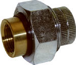 Pannext Fittings DU-FITXFBT05 1/2Galv DielectricUnion