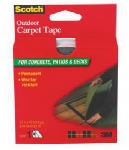 3M CT3010 Outdoor Carpet Tape, 1-3/8-In. x 40-Ft.