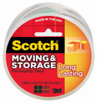 3M 3650 Storage Tape, Clear, 1.88-In. x 54.6-Yd.