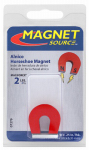 Master Magnetics 07279 Alnico Horseshoe Magnet with Keeper - 2-Lb. Pull