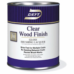Deft/Ppg Architectural Fin DFT010/04 Wood Finish, Clear Gloss, 1-Qt.