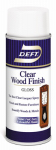 Deft/Ppg Architectural Fin DFT010S/54 Aerosol Gloss Wood Finish, Clear, 13-oz.
