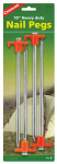 Coghlans 8312 Tent Pegs, 10-In. 4-Pk.