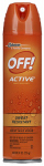 S C Johnson Wax 22937 Active Mosquito Repellent,9-oz.