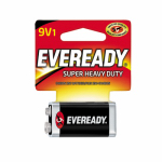 Eveready Battery 1222SW 9V Super Heavy-Duty Carbon Zinc Battery
