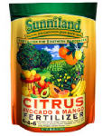 Sunniland 120238 Citrus, Mango & Avocado Fertilizer, 6-4-6, 20-Lb.