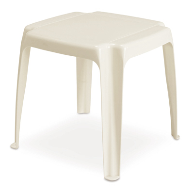 8115 48 3700 Outdoor Side Table White