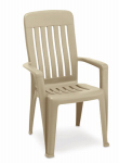 Adams Manufacturing Co 8259-23-3700 Clay Missio Stack Chair