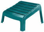 Adams Mfg 8380-16-3731 Adirondack Ottoman, Hunter Green