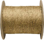 Wellington Cordage 28771 3/8-Inch x 600-Ft. Twisted Manila Rope