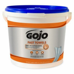 Gojo Industries 6299-02 Fast Wipes Hand Towels, 225-Ct.
