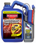 Sbm Life Science 700335A Advanced Carpenter Antique & Termite Killer Plus, Power Sprayert with Ergo Grip, 1.3 Gallon
