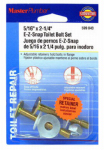 Plumb Shop Div Brasscraft 599043 2-Pack Snap-Off Toilet Flange Bolt Set