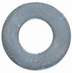 Hillman Fasteners 811070 Flat Washers, Wide Pattern, Galvanized, 1/4-In., 100-Pk.