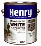 Henry HE287SF046 1-Gallon SolarFlex Elastomeric White Roof Coating