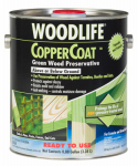 Zinsser & 01901A Coppercoat Green Wood Preservative, 1-Gal.