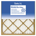 Flanders 81555.012025 Pinch-Pleated Furnace Filter, 20x25x1-In., Must Purchase in Quantities of 12