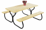 Jack Post FC-30 Fiesta Charm Picnic Table Frame