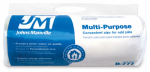 Johns Manville Intl 90010045 R6.7 Unfaced Multi-purpose Fiberglass Insulation, 5.33 Sq. Ft. Coverage, 2 x 16 x 48-In. Roll