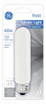 G E Lighting 45145 40-Watt Frosted Tubular Light Bulb