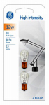 G E Lighting 94854 High Intensity Light Bulbs, 12-Watt, 2-Pk.
