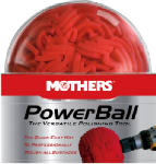 Mothers Polish 05140 PowerBall Polishing Tool