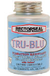 Rectorseal 31631 Tru-Blu Pipe Thread Sealant, 4-oz.