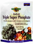 Bonide Products 969 Triple Super Phosphate Fertilizer, 0-45-0, 4-Lb.